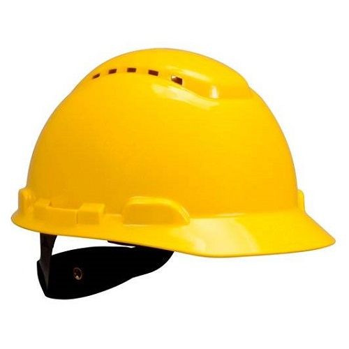 3M Hard Hat Yellow 4pt Ratchet H-702V