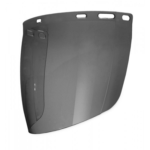 REPLACEMENT SPHERICAL VISOR - SMOKE-SV-IS5-CE
