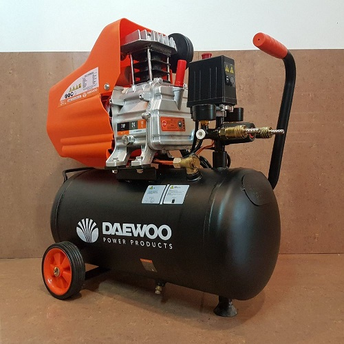 Daewoo-C DAC24D Air Compressor 2hp 24Litre 8Bar