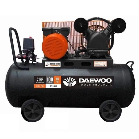 Daewoo DAC100C-V 2Hp 100L Air Compressor