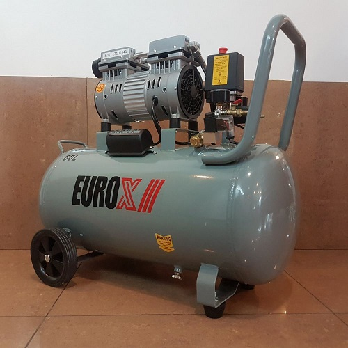 EAX5060 60L 0.75hp Silent Oil Less-Free Air Compressor