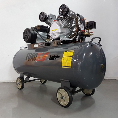 EUROX 3HP 150L 8bar Belt Driven Air Compressor-