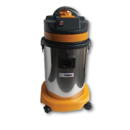 Europower VAC5001 30L S.Steel Wet Dry Vacuum Cleaner