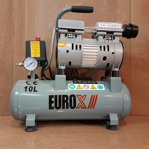Eurox-EAX-5010-10Liter-Silent-Oil-Less-Free-Air-Compressor