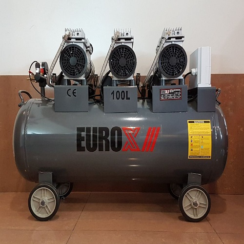 Eurox EAX-7180 2.2HP Silent & Oil-Less Air Compressor