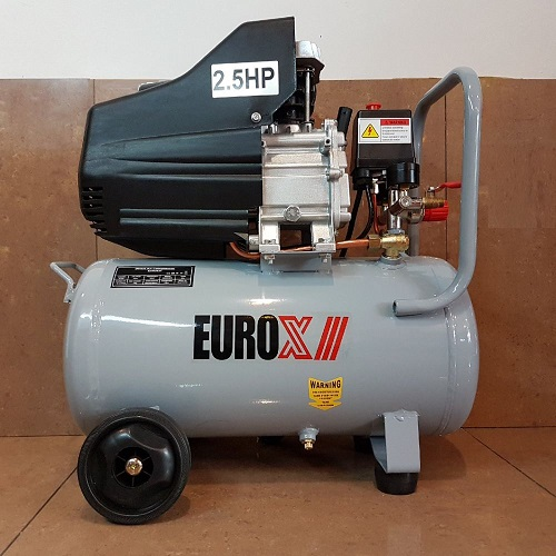 Eurox EAX2524 24L 2.5HP 8Bar Air Compressor