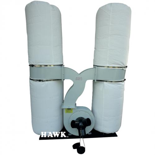 HAWK Dust Collector 2200W, 100mm, 65090L-min, 64kg FM300T