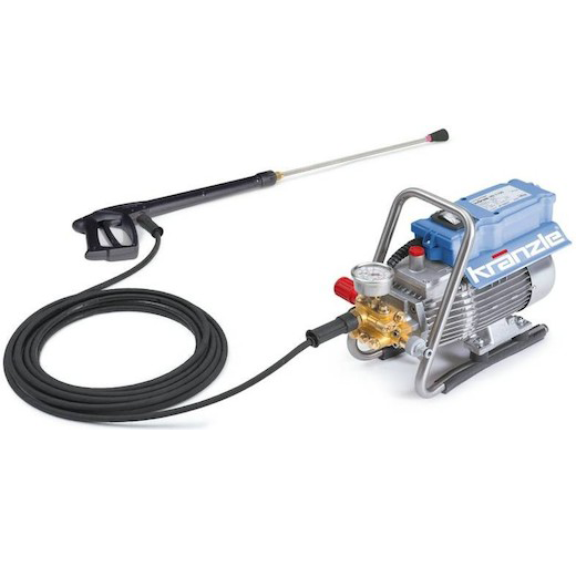 KRANZLE HIGH PRESSURE CLEANER 1600W, 120BAR, 22KG, HD7-122