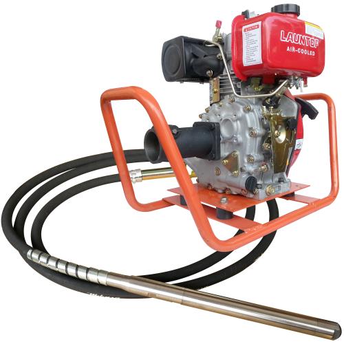 Launtop Desel Engine & Concrete Vibrator 60mmX5m LA170FA-60TK