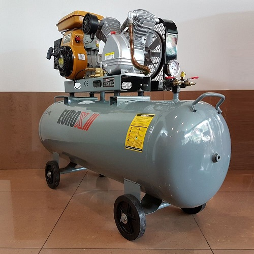 Petrol Engine Air Compressor 5.5hp 12bar 150Lts