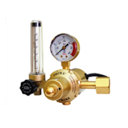 Prima CO2 Flowmeter Regulator with Heater 838CR-H