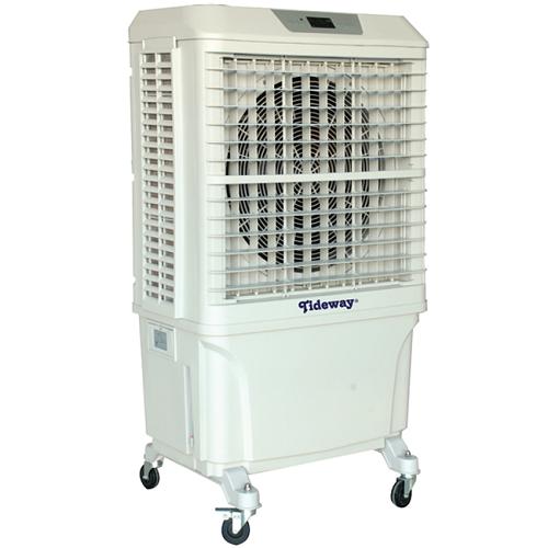 TIDEWAY FAN EVAPORATIVE AIR COOLER 8000M3-H, 380W, 34KG EEC168