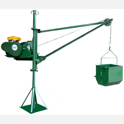 TOKU Lifting Hoist Electric Motor 2HP 135kg 6mmx20m TKPLH-300E