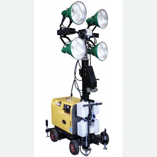 TOKU Light Tower Diesel Engine 4 Lights Height 5300mm 280kg TKLT-4400
