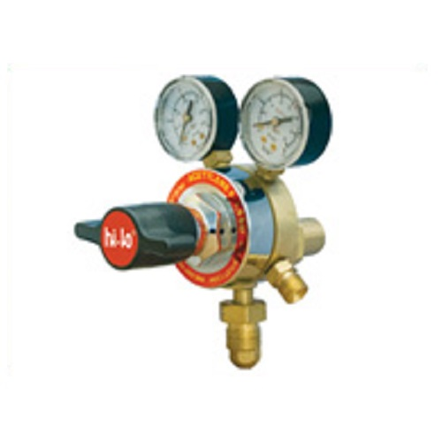 hilo02-2 Stage Acetylene Regulator - 1.5 Bar (ECO)