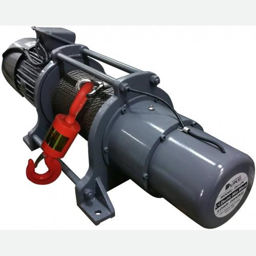 DUKE Winch 1ton 10mmx100m, 12m/min, 3Ø, 2.2kW, 222kg DU-212L