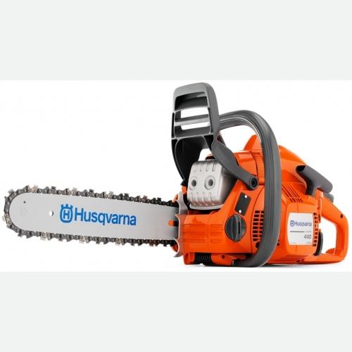 "Husqvarna Chain Saw 40.9CC, 2.4HP, 2900rpm, 18"", 4.5kg 440E"