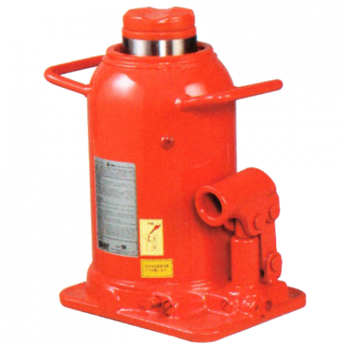 Masada Hydraulic Bottle Jack 50ton,Max. Height475mm, 37kg -MH-50Y
