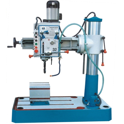 Xest Ling Radial Arm Drill 32mm, 750W, 1600rpm, 580kg