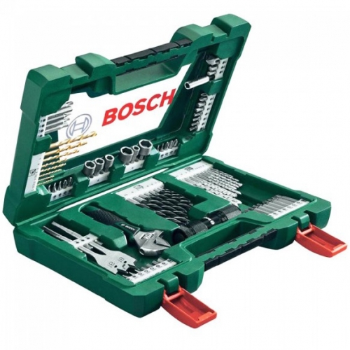 Bosch 83-PIECE V-LINE DRILL BIT AND Hand Tools Set 2607017193