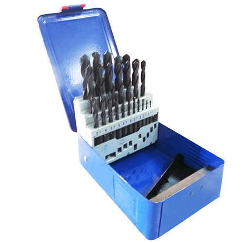 IRWIN HSS PRO DRILL SETS IN METAL CASE 1-13MM 25PCS 1KG 10502504
