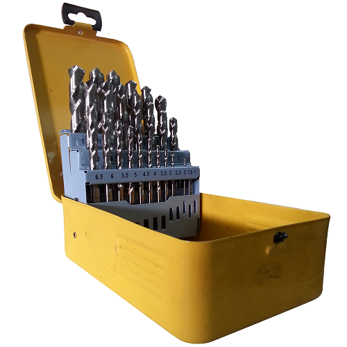 P&N HSS METAL DRILL BIT 25PCS, METRIC, 1-13MM, 0.5MMRISES P&N25M