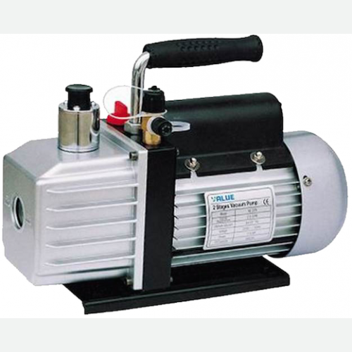 Value Dual Stage Vacuum Pump 1.5CFM, 42L-min, 1-4HP VE215